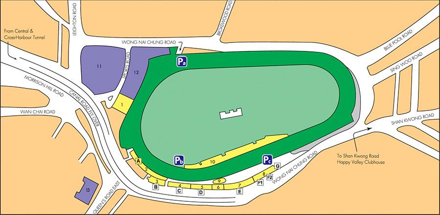 Citi Field Gate Map on