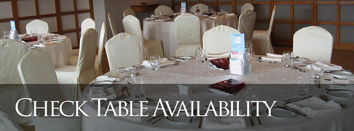 Check Table Availability