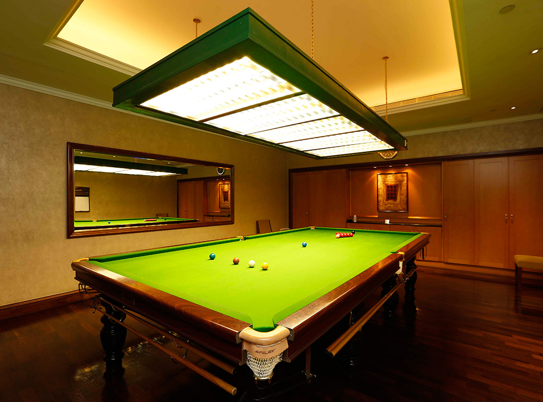 Billiard Room Happy Valley Clubhouse Membership The Hong Kong